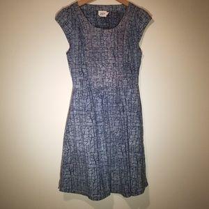 Mata traders Womens Deess Navy blue gray medium M